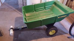 Yard cart pull behind mower for Sale in Normal, IL