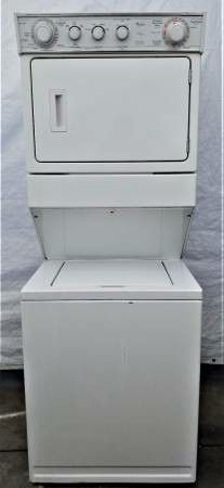 Like new! Whirlpool big load capacity stackable washer gas dryer unit ! for Sale in Los Angeles, CA