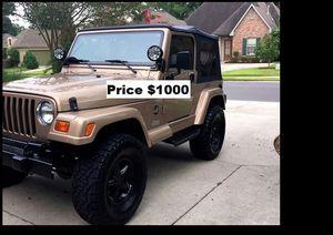 ֆ1OOO_1999 Jeep Wrengler for Sale in Huntington Beach, CA