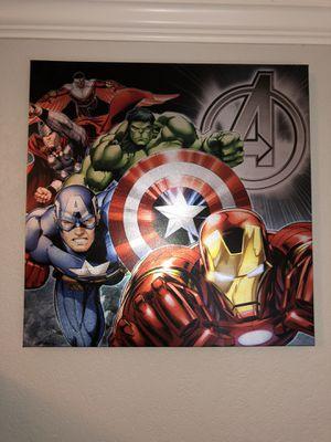 Avengers Wall Art (Canvas) for Sale in Lodi, CA
