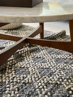 West Elm Reeve Mid-Century Coffee Table - Marble for Sale in Los Angeles,  CA