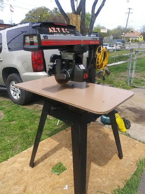 CRAFTSMAN RADIAL SAW for Sale in Fort Worth, TX
