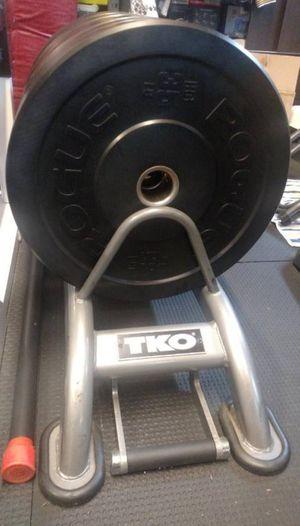 TKO Horizontal Bumper Plate Rack for Sale in San Diego, CA