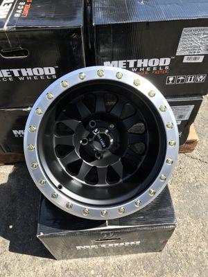 Method Race Wheels MR 304 DOUBLE STANDARD 15X10 5X4.5 for Sale in Pomona, CA