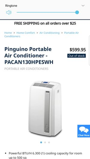 Portable air conditioning unit 1500 BTU for Sale in Oviedo, FL