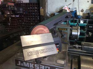 Craftsman belt and disk sander combo for Sale in Hacienda Heights, CA
