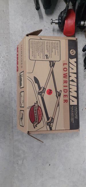 yakima/thule bars, ski racks, bike & wheel holders. tons of misc. adapters for Sale in Seattle, WA