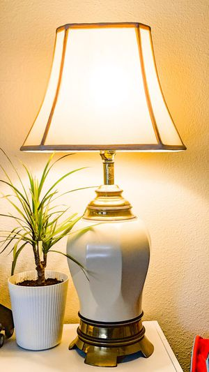Beautiful table lamp / floor lamp for Sale in Portland, OR