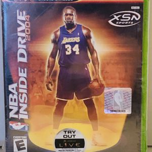 NEW & SEALED Original XBox NBA Inside Drive 2004 video game for Sale in Salem, OR