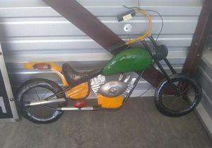 New Recycled Metal Art 3d Motorcycle Wall Art Sign for Sale in Petersburg, TN