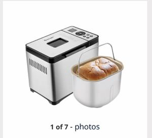 Costway Automatic Stainless Steel Bread Maker 2Lb Programmable Bread Machine Silver New for Sale in Hacienda Heights, CA