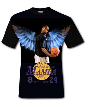 Rest In Paradise Kobe Bryant Mamba T-Shirt for Sale in Los Angeles, CA