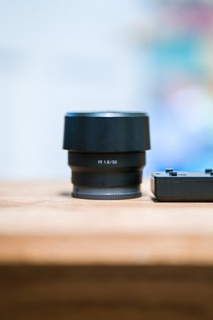 Sony 50mm f1.8 lens and ND filter for Sale in Naples, FL