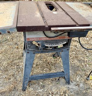 Vintage Crafstman 1970's motorized table saw for Sale in Los Angeles, CA