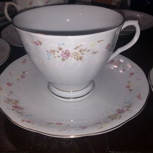 Antique Fine China Tea Cup & Saucer Set 6 for Sale in Los Angeles, CA