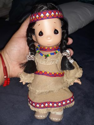 Precious Moments Native American doll for Sale in Hayward, CA