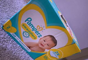 Pampers Swaddlers ( Size 2) for Sale in Dallas, TX