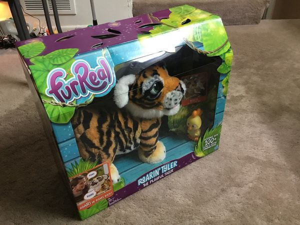 FurReal Friends Roarin' Tyler The playful tiger toy (Brand New)