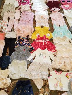 Baby Girl Clothes Size 3 Month-12 Month for Sale in Woodbridge,  VA