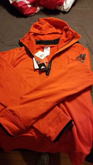 Adidas ClimaHeat Half Zip Mens Training Hoody - Orange Size Med for Sale in St. Louis, MO