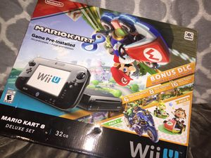 Nintendo Wii U 32GB Mario Kart 8 (Pre-Installed) Deluxe bundle for Sale in Stockton, CA