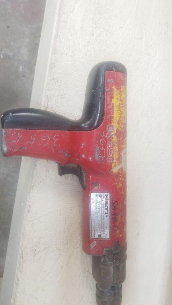 Hilti Dx350 .22 caliber fastener gun