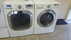 LG WASHER AND ELECTRIC DRYER for Sale in Modesto, CA