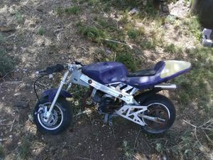Blue pocket bike for sale for Sale in McIntosh, NM