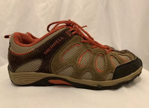 Merrell Chameleon Low Lace Waterproof Hiking Shoes Youth Boys Size 4M for Sale in Forney, TX