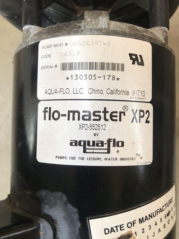 Flow master XP2 water pump