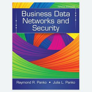 Business Data Networks and Security 10th Edition by by Panko 978-1292075419 eBook PDF free instant delivery for Sale in Walnut, CA