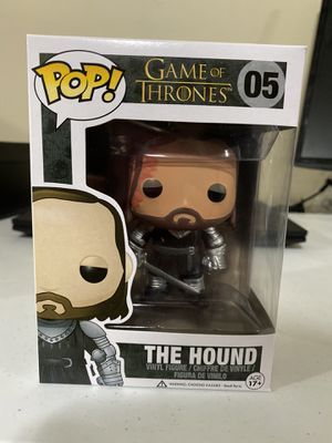 Game of Thrones The Hound funko pop 05 for Sale in Lincoln, NE