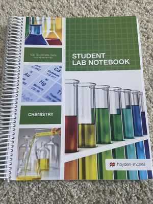 Chemistry Lab Notebook for Sale in Union City, CA