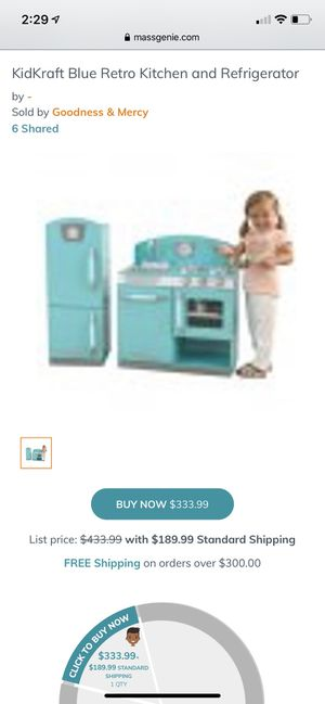 Kids Kraft kitchen set for Sale in Phenix, VA