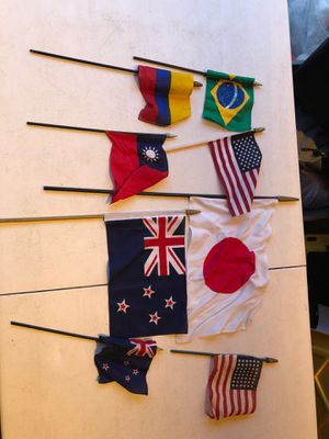 Flag collectible collection (8) for Sale in Manassas, VA