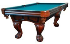 """7 foot POOL TABLE w/BALL &CLAW LEG """"BOCA RATON"""" by BERNER BILLIARDS for Sale in Apache Junction, AZ"""
