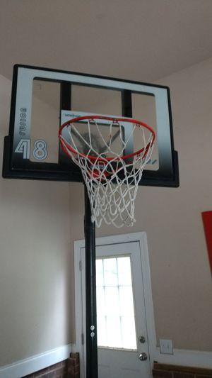 Adjustable basketball hoop for Sale in Fuquay Varina, NC