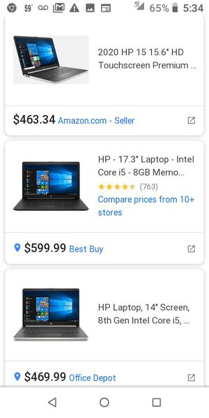 LAPTOP - hp notebook for Sale in Oakland, CA