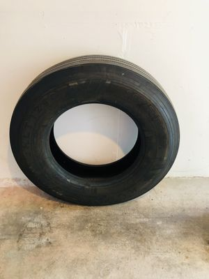 Trailer tire for sale, just 5k miles on it, size 295/75R 22.5, price 160$ for Sale in Mill Creek, WA