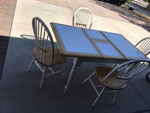 Kitchen table and chairs for Sale in Peoria, AZ