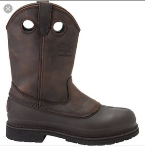 Men work boots brand is Georgia super expensive new for Sale in Annandale, VA