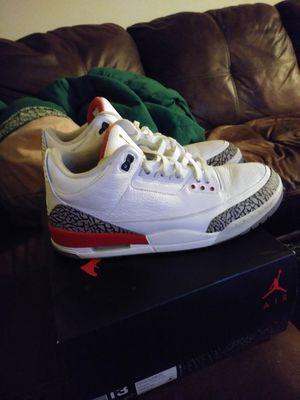 Air Jordan Retro 3 Katrina for Sale in Indianapolis, IN