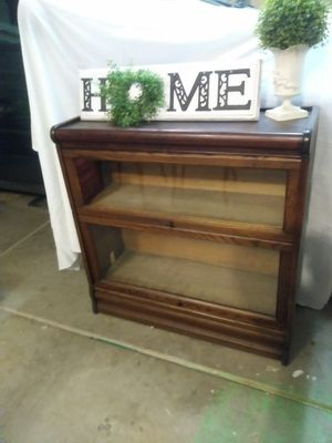 Antique Stacking Lawyers Bookcase for Sale in Apache Junction, AZ
