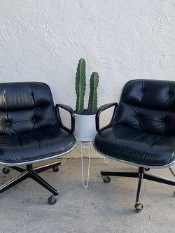 Pair Of Knoll Pollock Executive Chairs for Sale in Long Beach,  CA