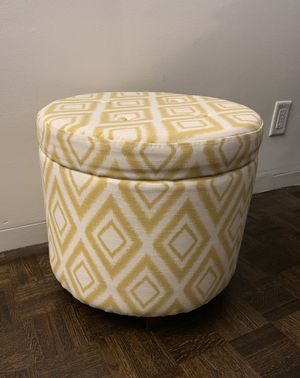 Target ottoman with storage for Sale in Boston, MA