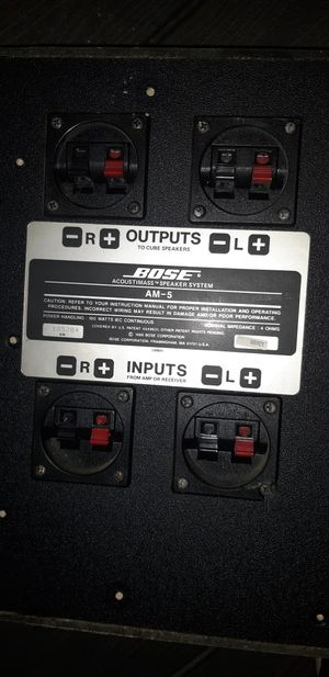 Bose Acoustimass AM-5 subwoofer/amplifier speaker for Sale in Blue Ridge, VA