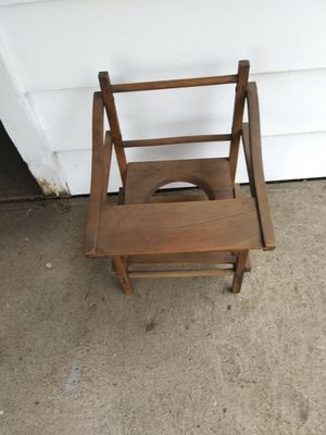 Antique potty chair for Sale in Cleveland, OH