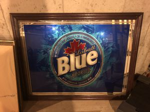 Large Labatt's Blue Mirror for Sale in Addison, IL
