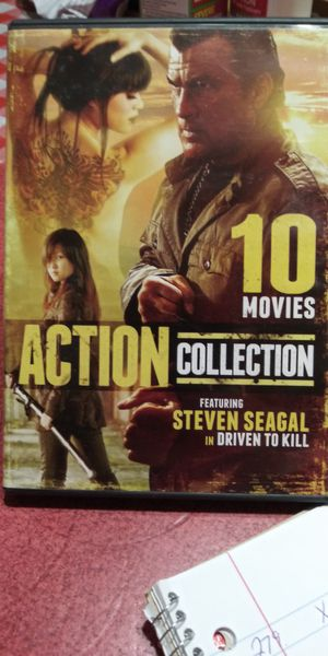 Steven Seagal 10 movies collection dvd for Sale in Brainerd, MN