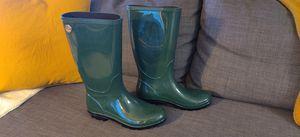 UGG Shaye Womens Waterproof Pine Rain Boots - Size 9 - Pine Green Color for Sale in San Jose, CA